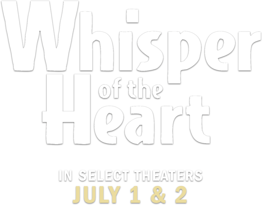 Whisper of the Heart : Synopsis | GKIDS Films