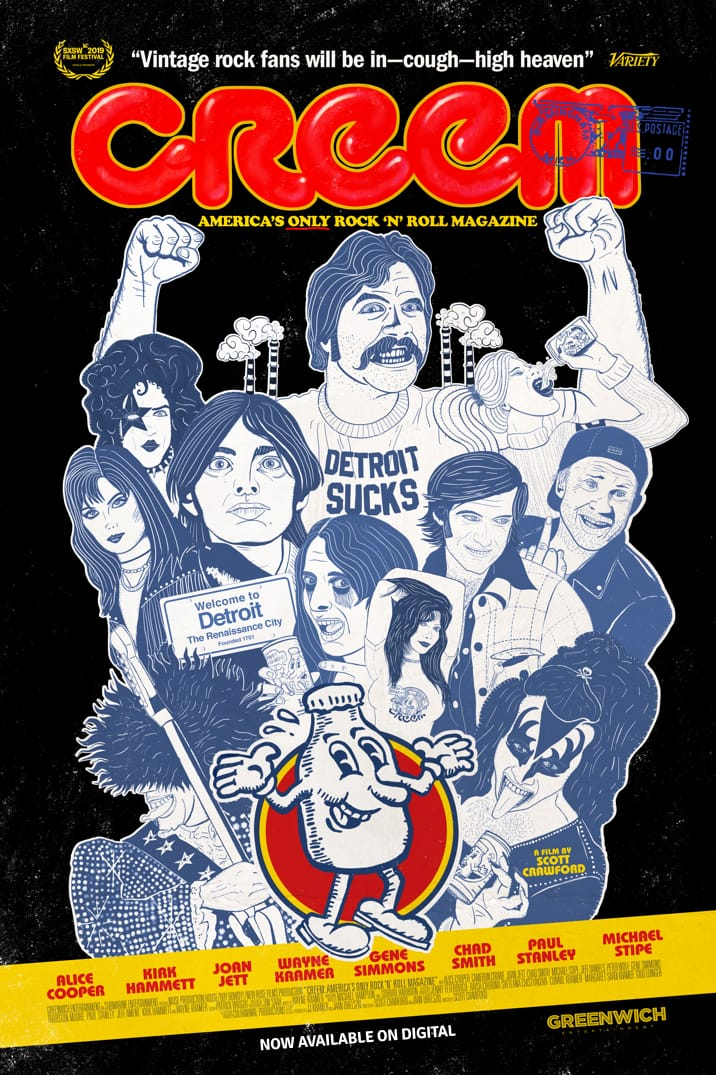 Poster image for Creem: America's Only Rock 'n' Roll Magazine
