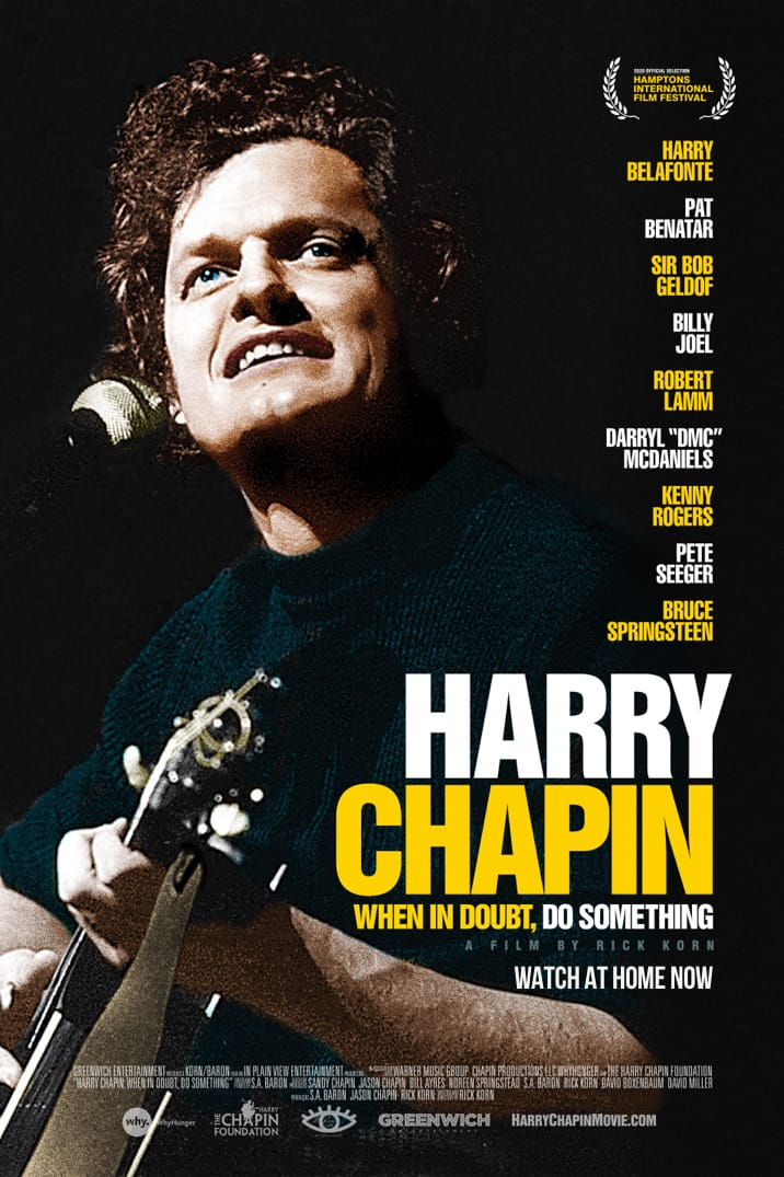 Poster image for Harry Chapin: When In Doubt, Do Something
