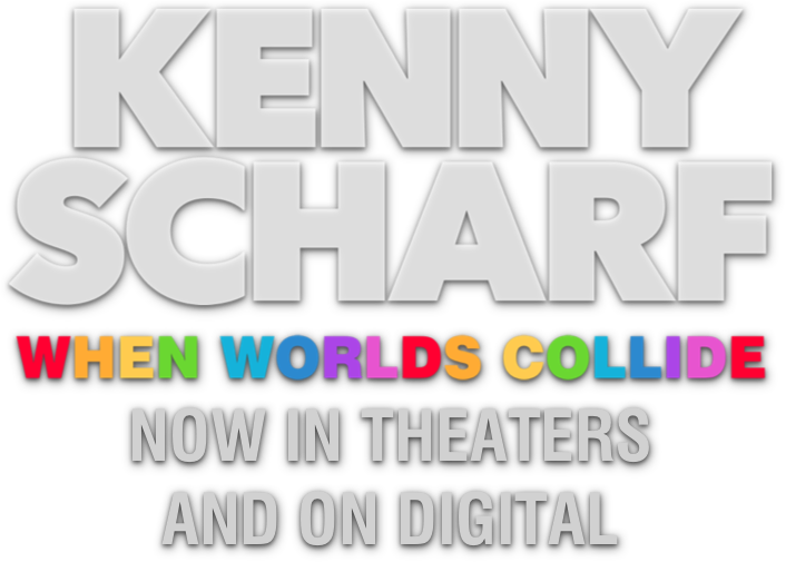 Title or logo for Kenny Scharf: When Worlds Collide