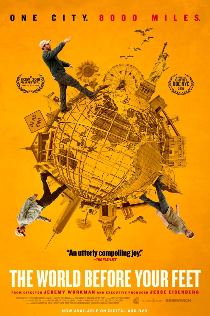 Poster for The World Before Your Feet