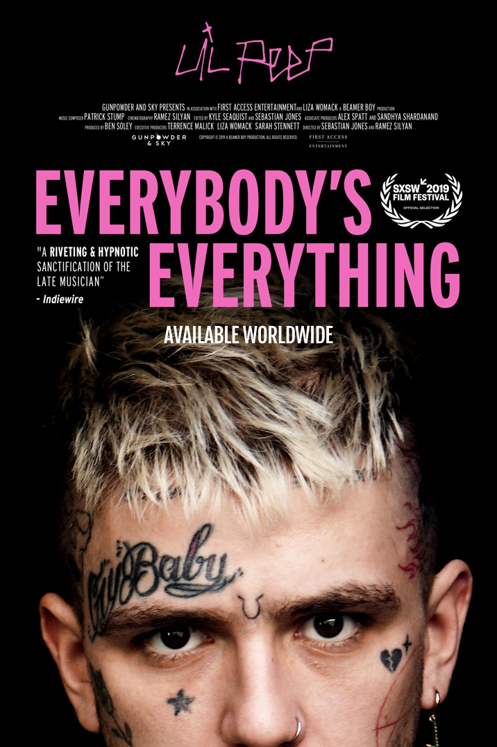 Poster image for Lil Peep: Everybody's Everything