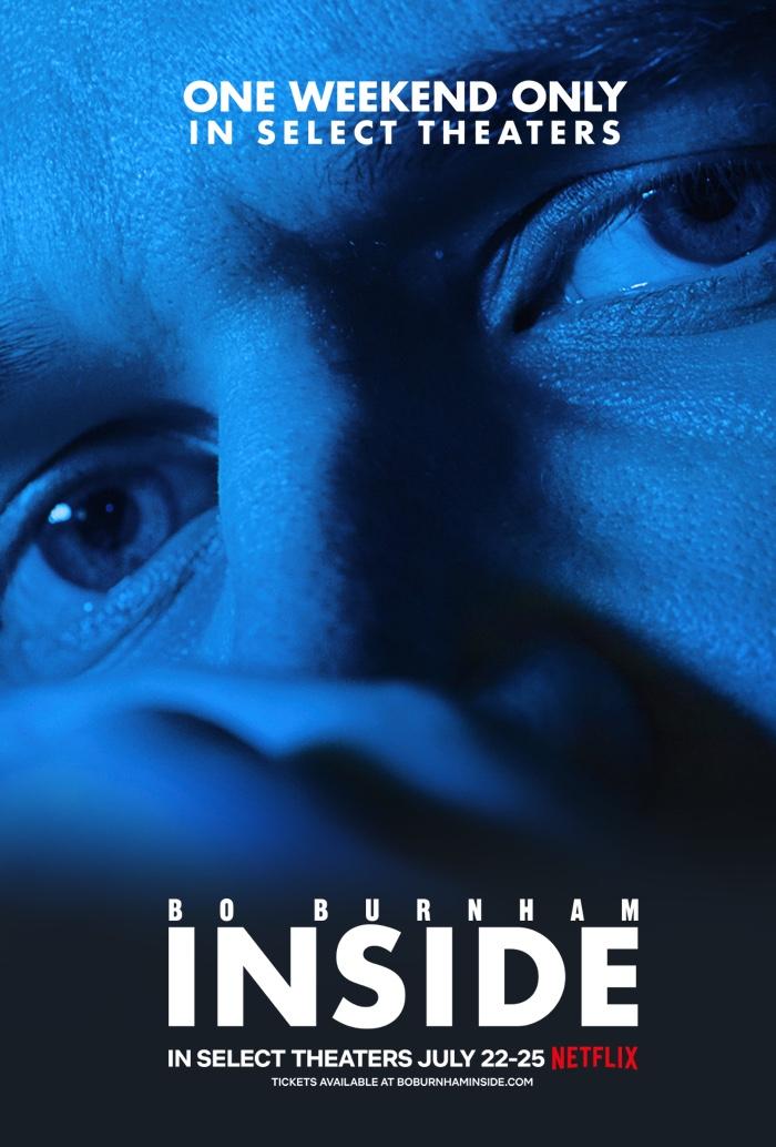 Poster for Bo Burnham Inside