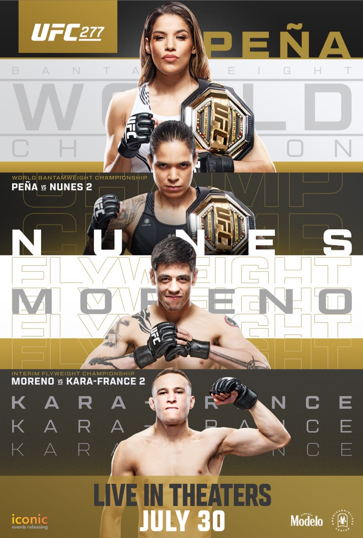 Poster image for UFC 268
