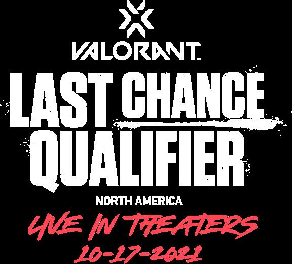 Title or logo for Valorant Champions Tour: Last Chance Qualifier