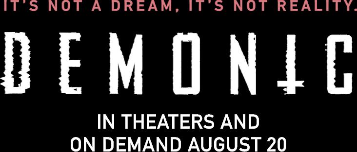 Title or logo for Demonic