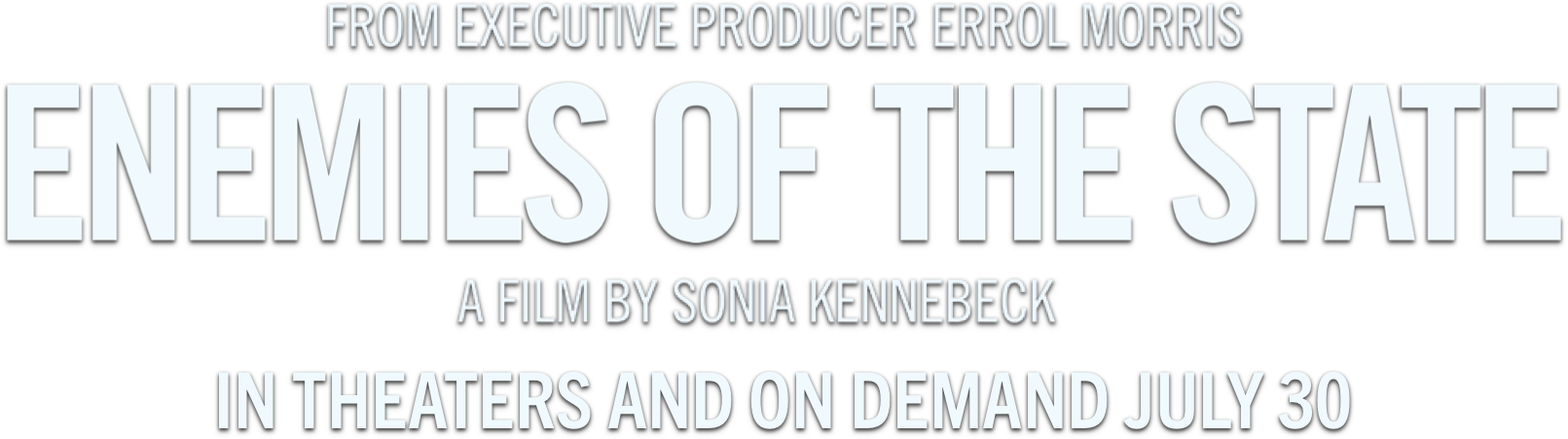 Title or logo for Enemies of the State