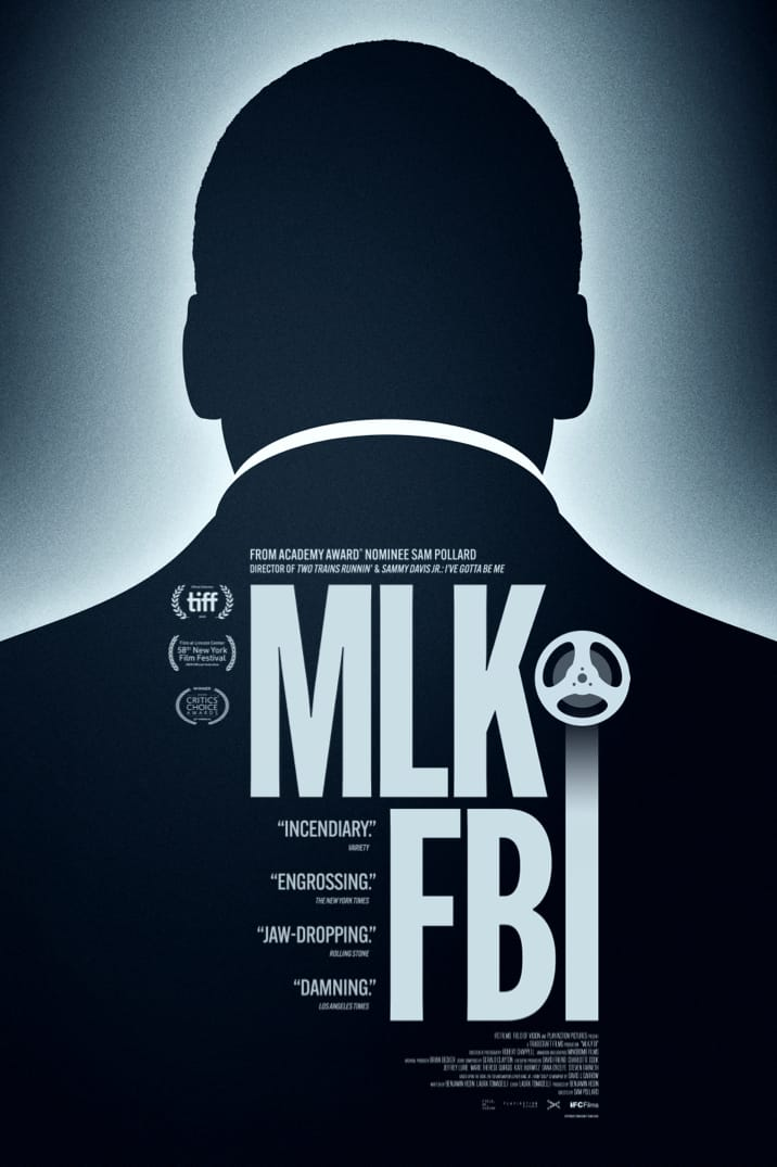 Poster image for MLK/FBI
