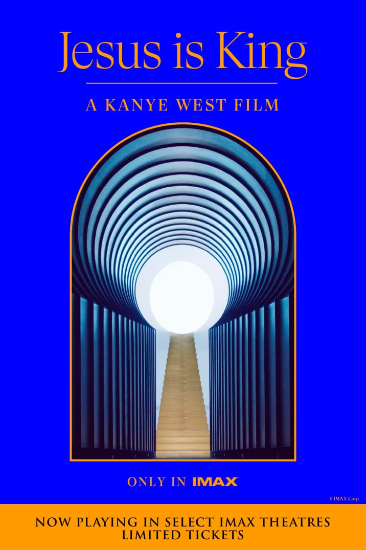 Poster image for Jesus is King: A Kanye West Film