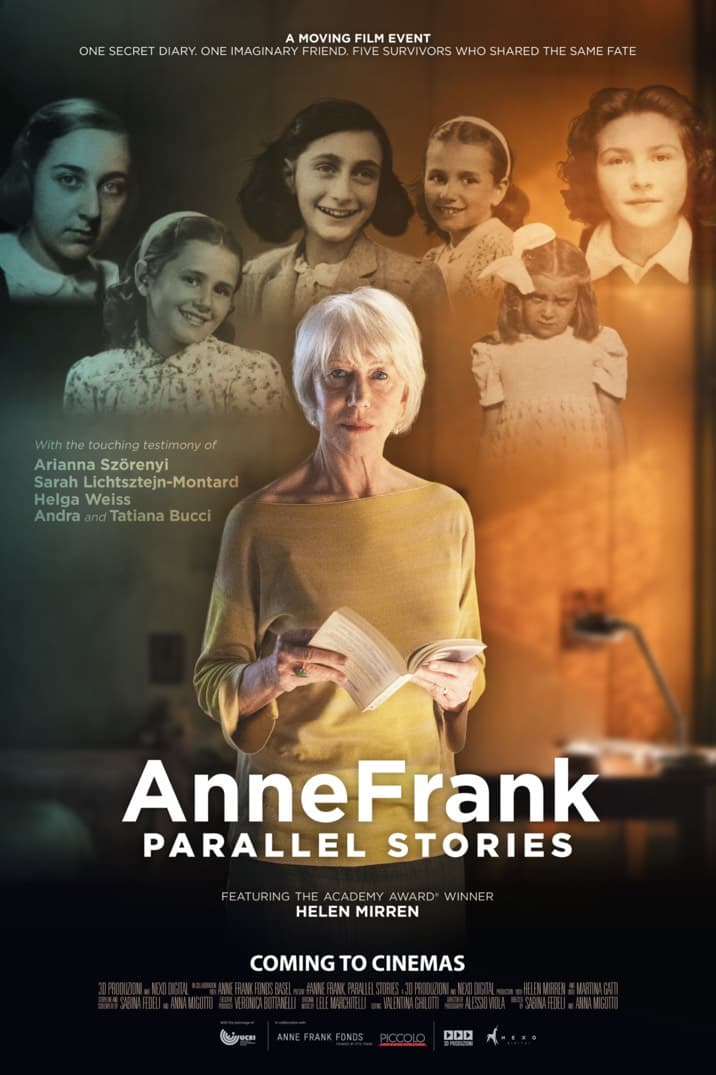 Poster image for #AnneFrank. Parallel Stories