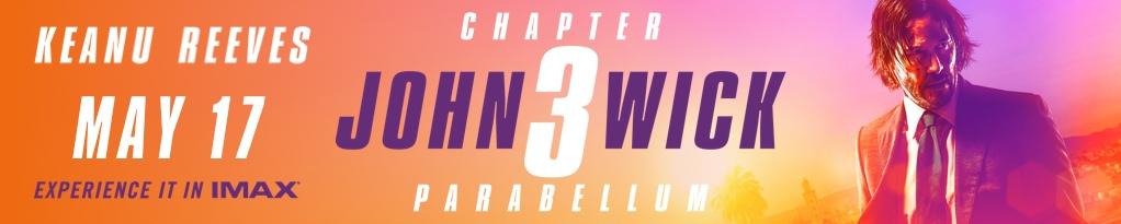 Poster for John Wick: Chapter 3