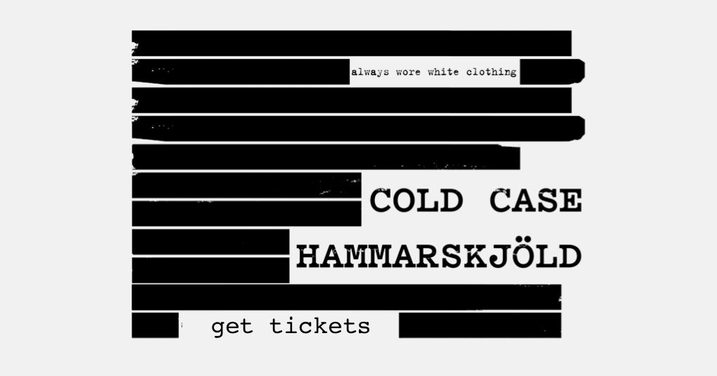 Cold Case Hammarskjöld | A Magnolia Pictures Film | OWN IT