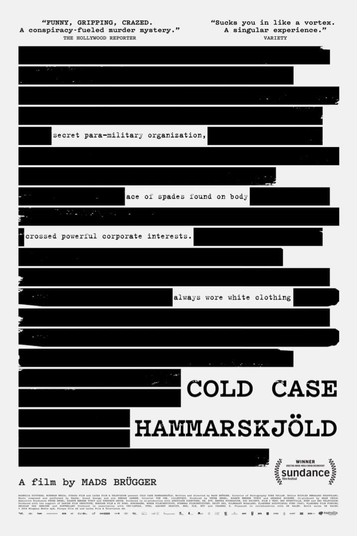 Poster for Cold Case Hammarskjöld