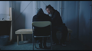 Ai Weiwei in HUMAN FLOW, an Amazon Studios release. Photo Courtesy of Amazon Studios.