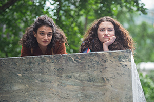 Jenny Slate and Abby Quinn in LANDLINE, an Amazon Studios release. Photo courtesy of Amazon Studios.