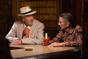 David Lynch and Harry Dean Stanton in LUCKY, a Magnolia Pictures release. Photo courtesy of Magnolia Pictures.