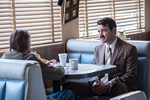 Harry Dean Stanton and Ron Livingston in LUCKY, a Magnolia Pictures release. Photo courtesy of Magnolia Pictures.