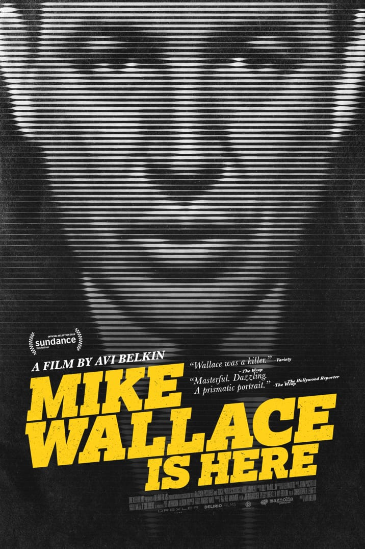 Poster for Mike Wallace Is Here