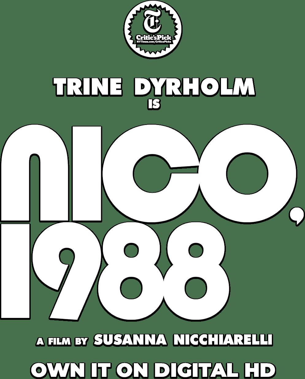 Nico, 1988: Story | Magnolia Pictures