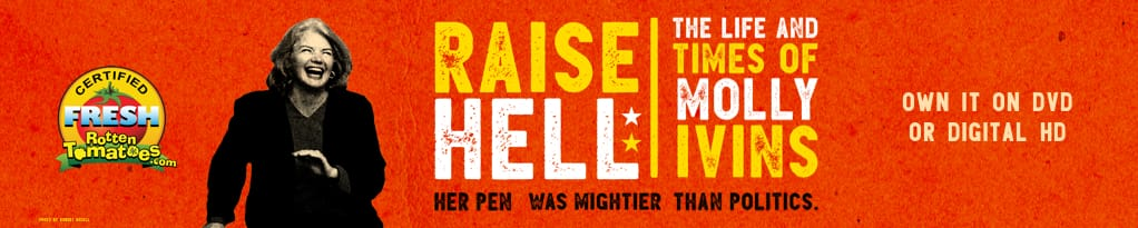 Poster image for Raise Hell: The Life & Times Of Molly Ivins