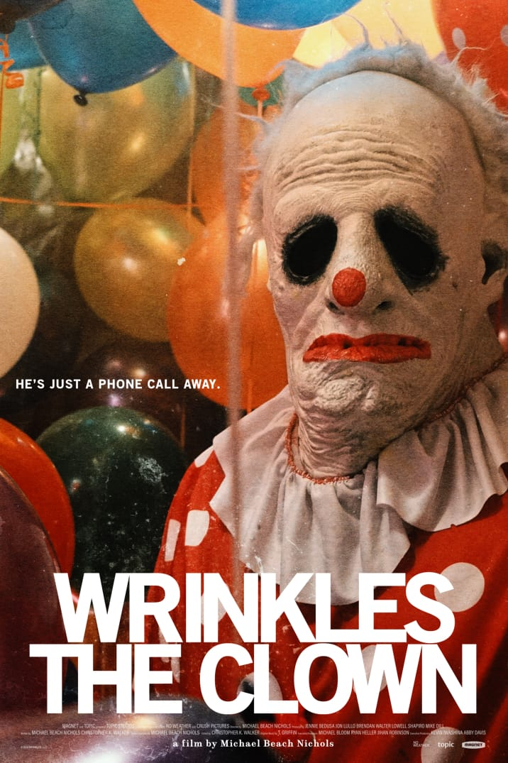 Poster image for Wrinkles the Clown