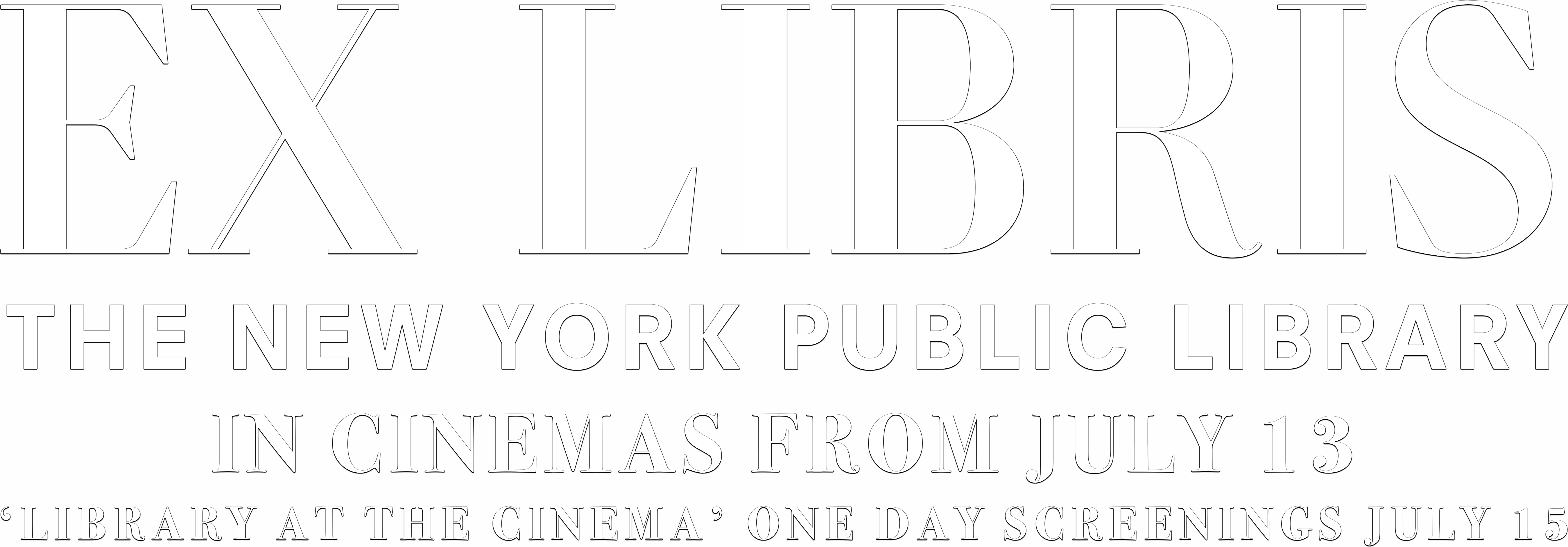 EX LIBRIS - THE NEW YORK PUBLIC LIBRARY : Synopsis | Modern Films