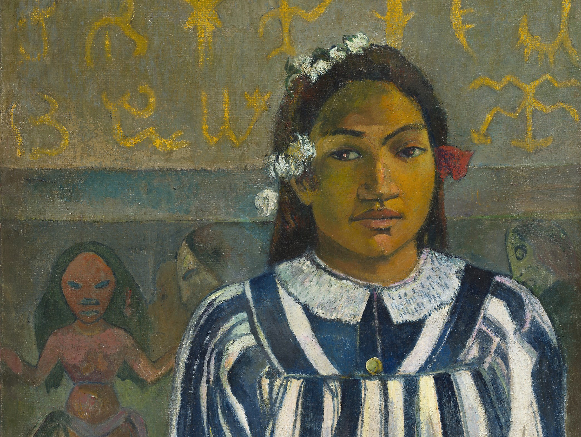 Image 1 of the Gauguin from the National Gallery, London gallery