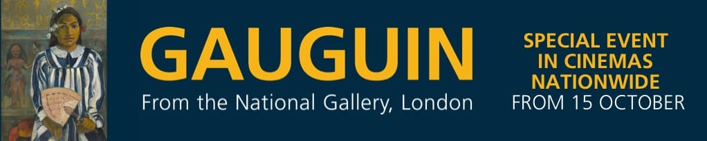 Poster for Gauguin from the National Gallery, London