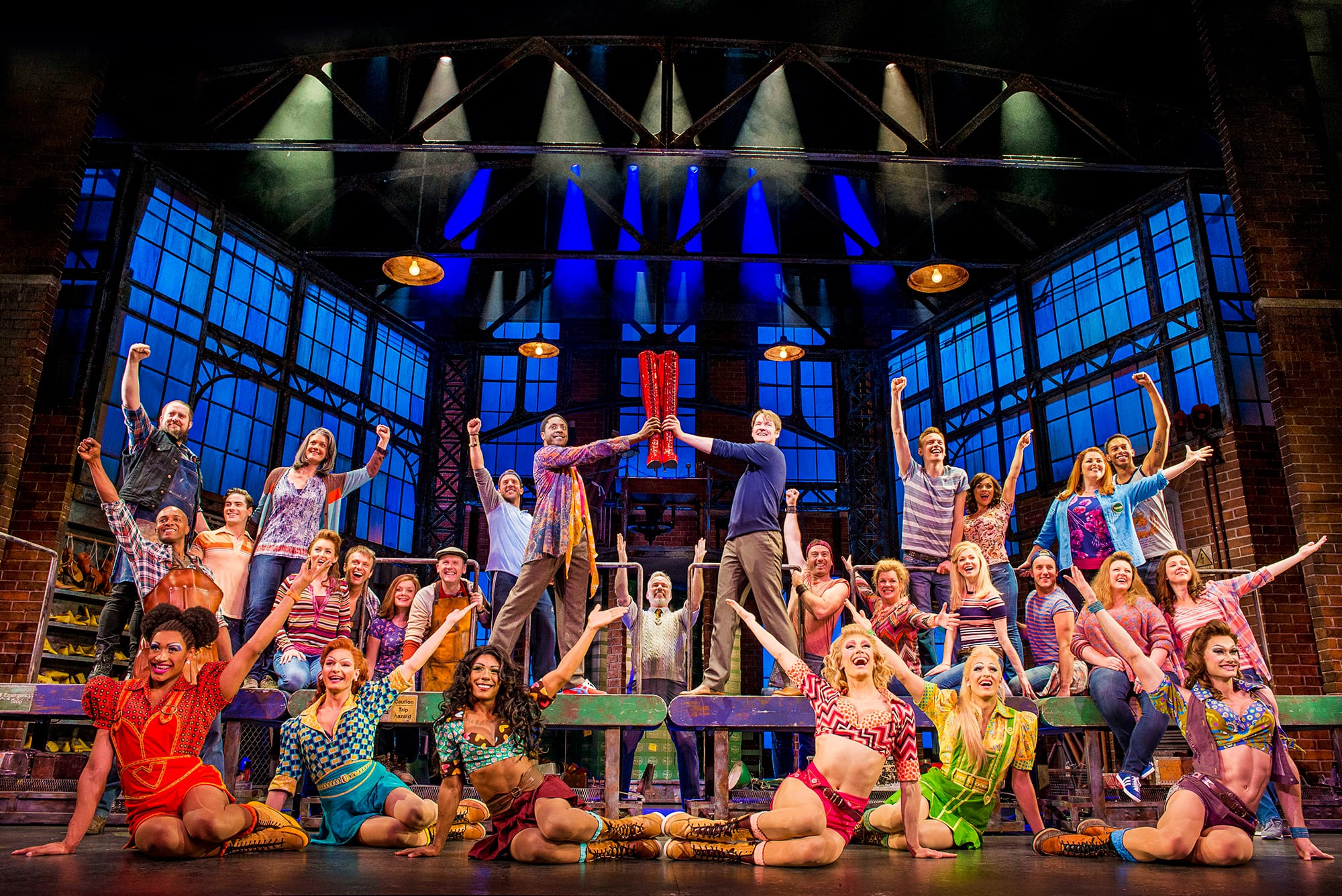 Image 1 of the Kinky Boots The Musical gallery