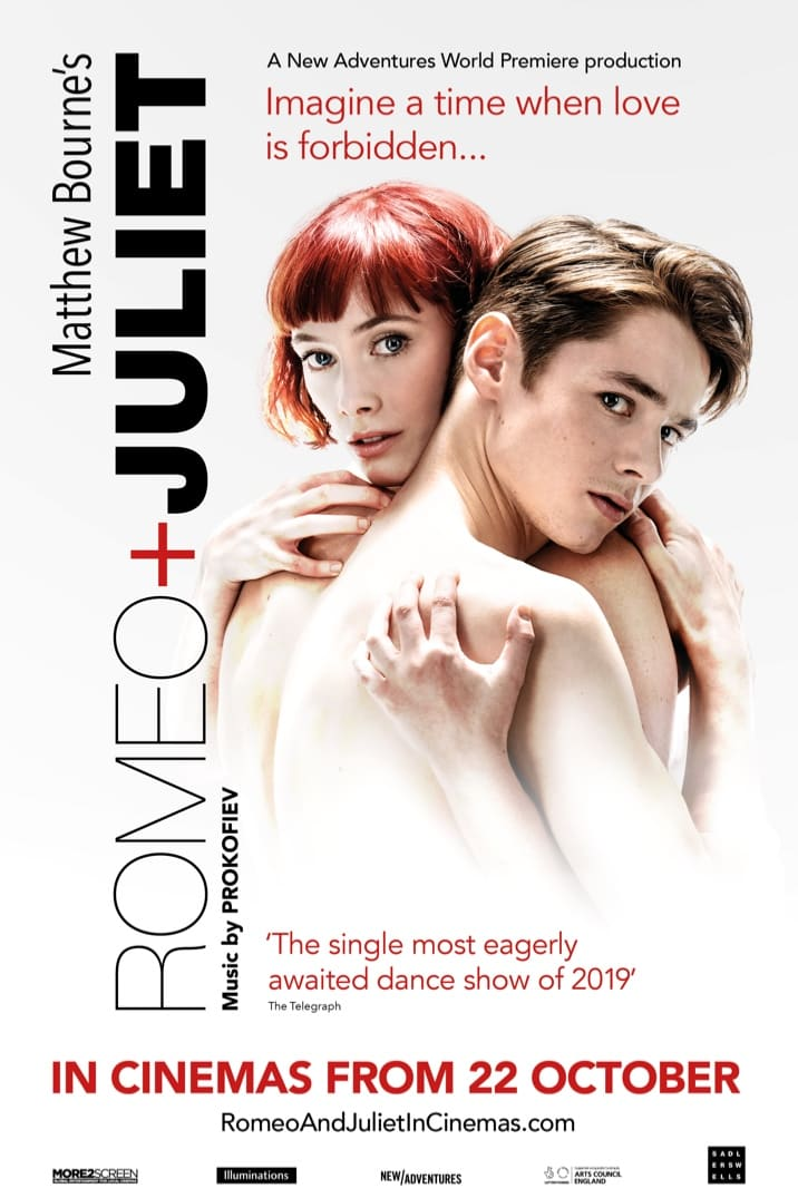Poster for Matthew Bourne's Romeo + Juliet