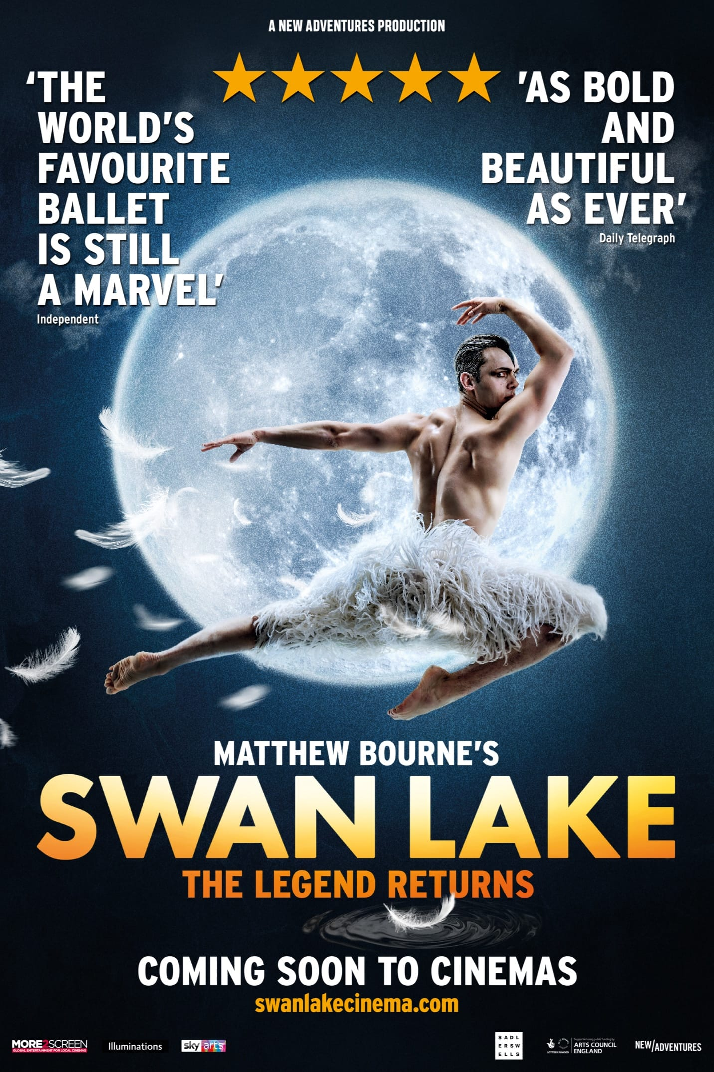 Matthew Bourne's Swan Lake | Book Tickets | In Cinemas Worldwide ...