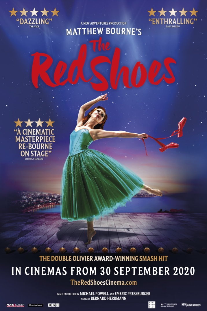 Poster image for Matthew Bourne's The Red Shoes