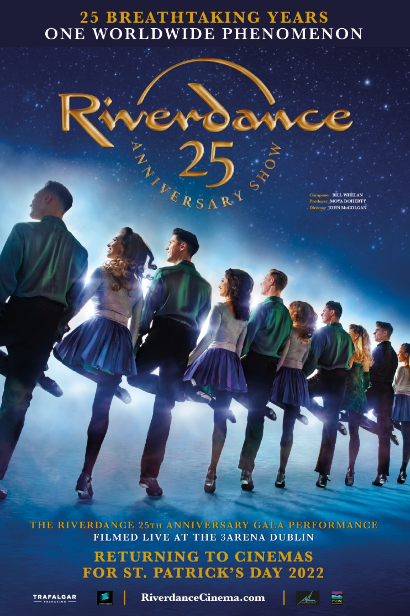 Poster image for Riverdance 25th Anniversary Show
