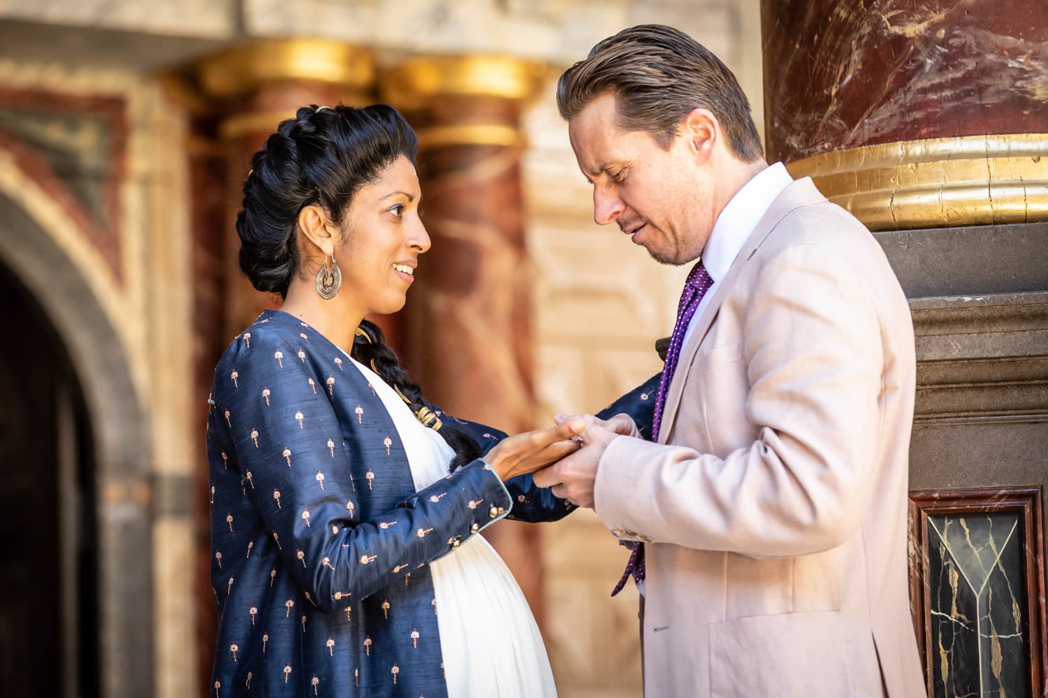 Image 1 of the The Merry Wives of Windsor: Live from Shakespeare's Globe gallery