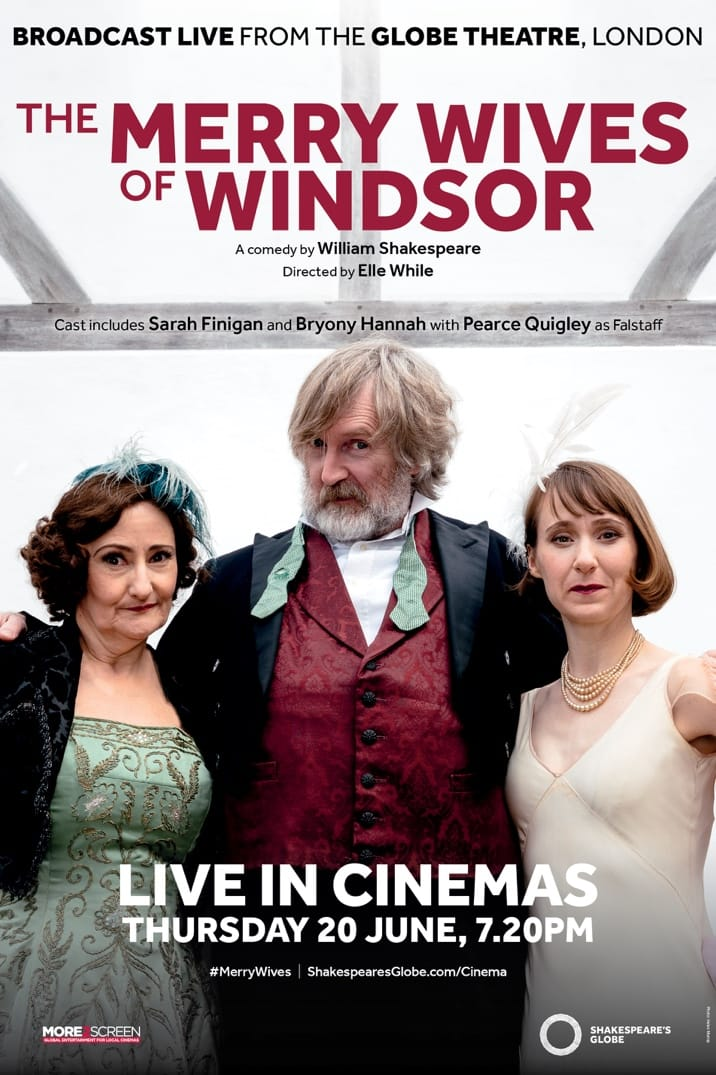 Poster for The Merry Wives of Windsor: Live from Shakespeare's Globe