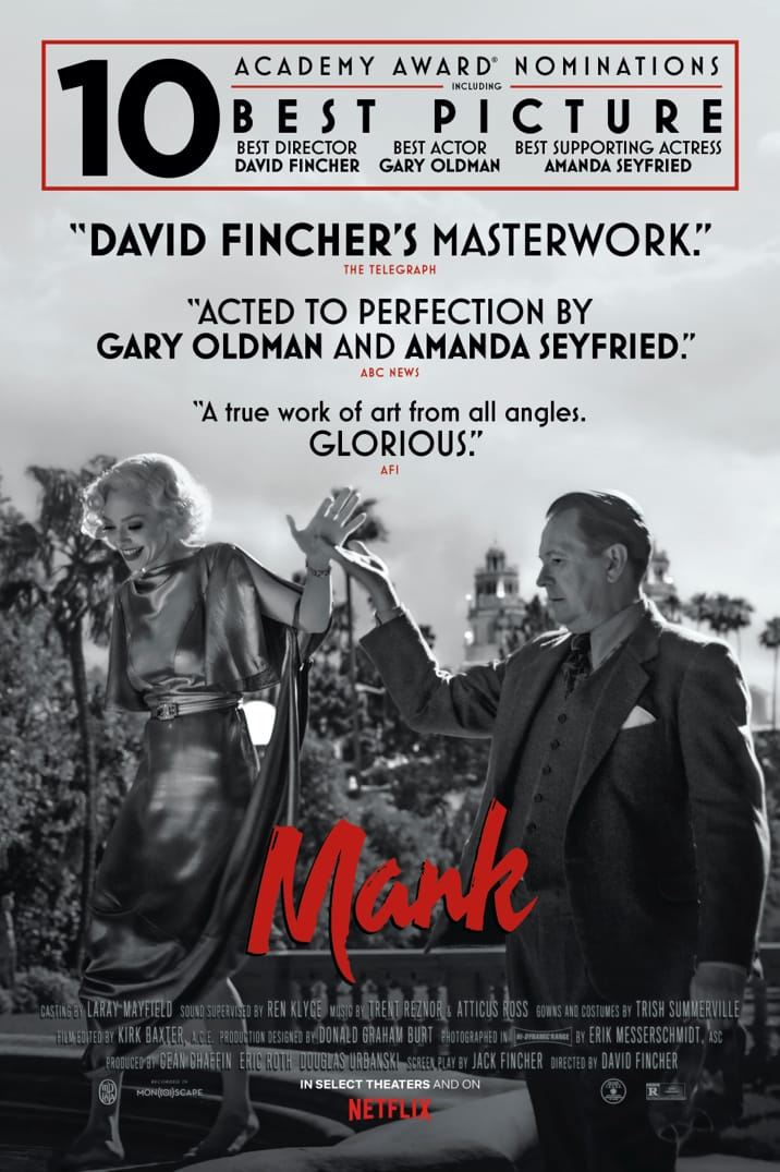Poster image for Mank