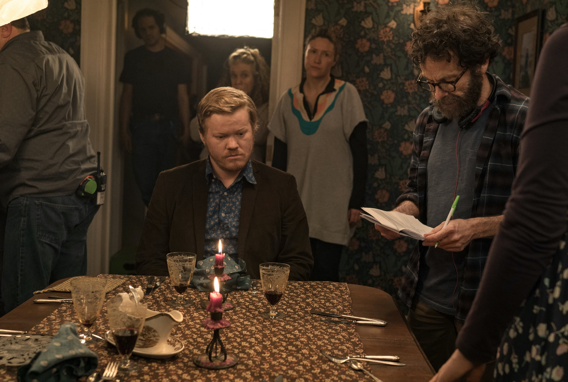 Jesse Plemons and Charlie Kaufman