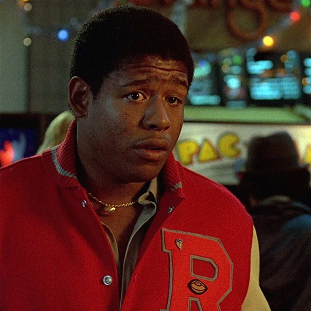 Forest Whitaker as Charles Jefferson in Fast Times at Ridgemont High