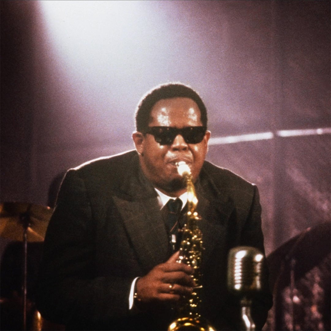 "Forest Whitaker as Charlie ""Bird"" Parker in Bird"