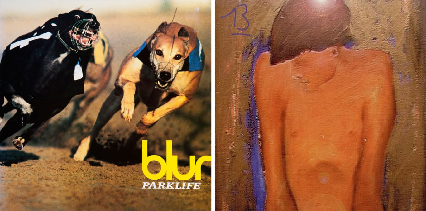 Blur albums Parklife and 13