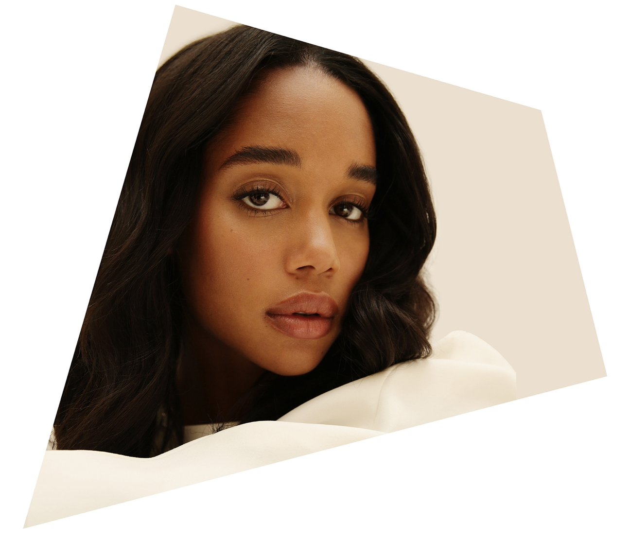 Actress Laura Harrier of Hollywood