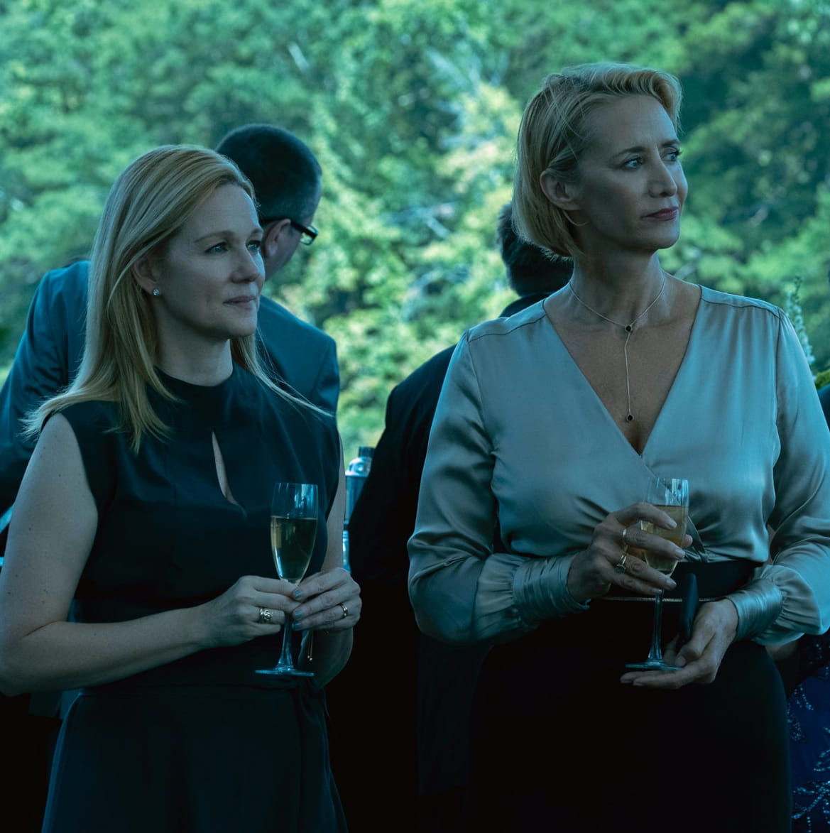Laura Linney and Janet McTeer in Ozark
