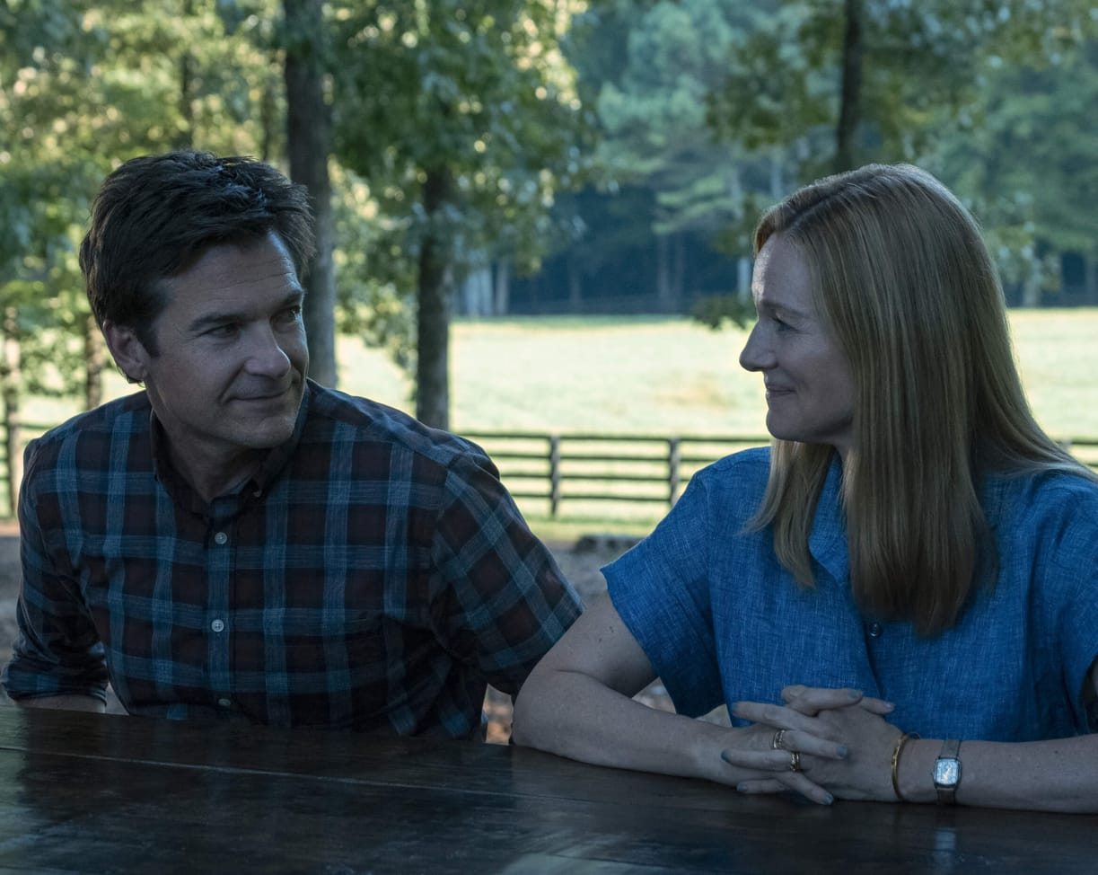 Jason Bateman and Laura Linney in *Ozark*