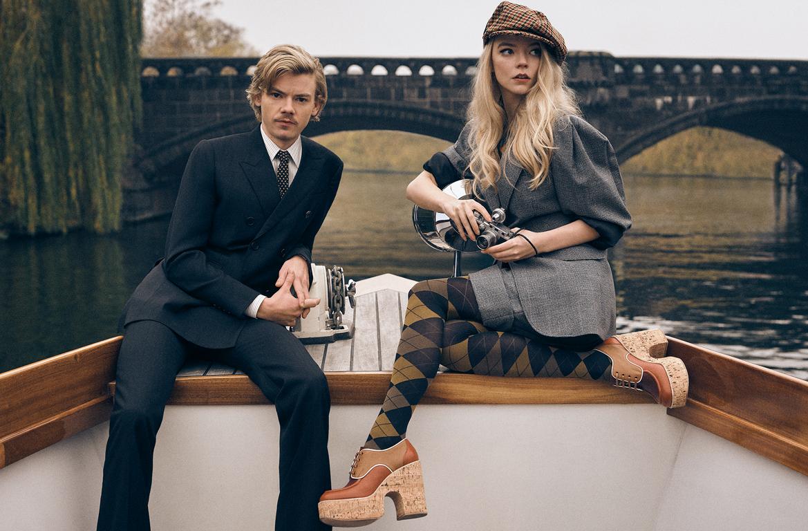 Anya Taylor-Joy and Thomas Brodie-Sangster