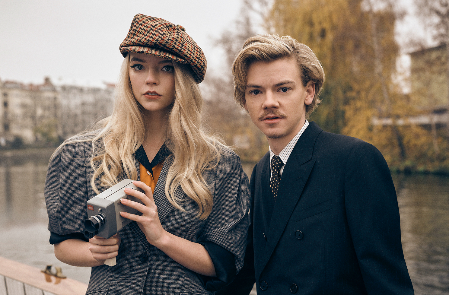 Anya Taylor-Joy and Thomas Brodie-Sangster