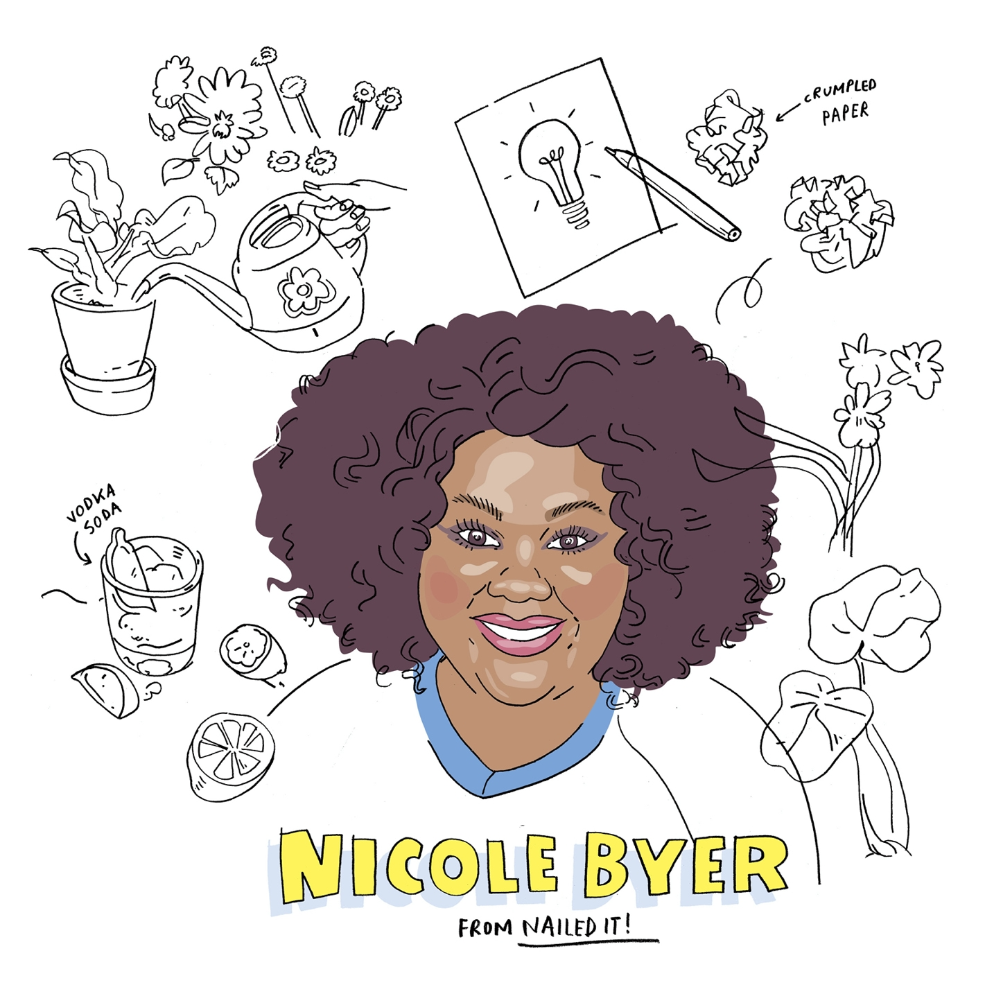 Nicole Byer from Nailed It!