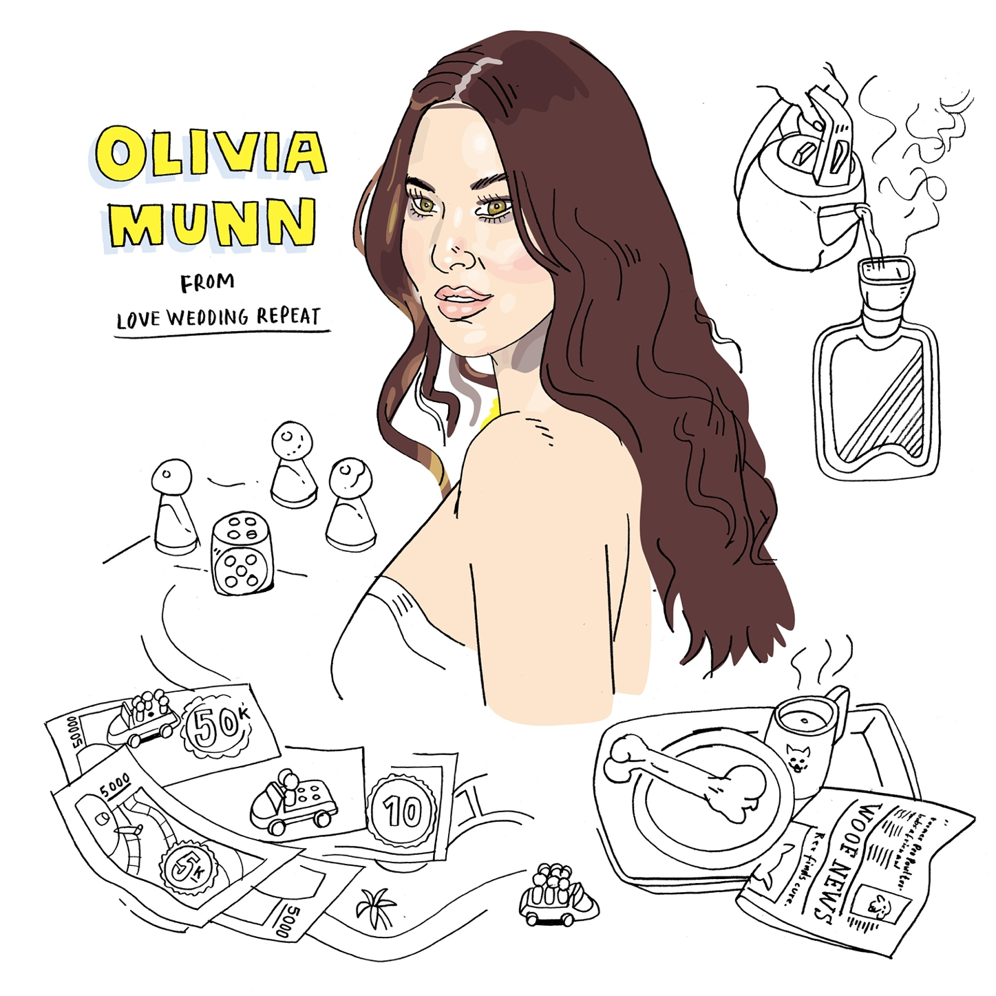 Olivia Munn from Love Wedding Repeat