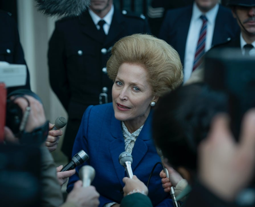 Gillian Anderson as Margaret Thatcher