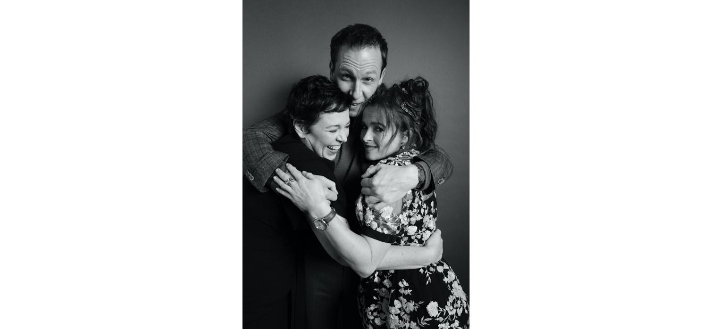 Tobias Menzies, Olivia Colman, and Helena Bonham Carter