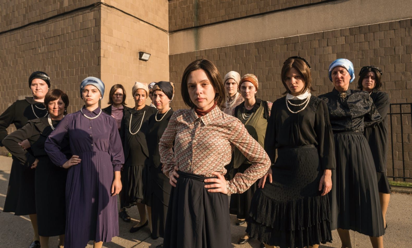 Shira Haas and her fellow Unorthodox actresses